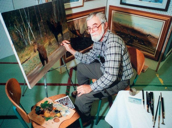 jean d 39 arc gagnon artiste peintre animalier saint alexandre de kamouraska qc ourbis. Black Bedroom Furniture Sets. Home Design Ideas
