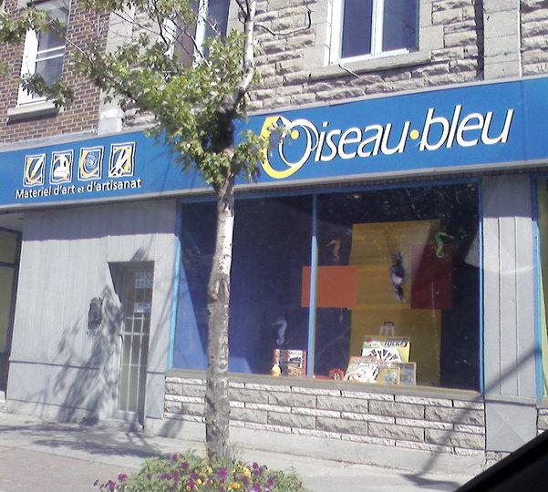 l 39 oiseau bleu mat riel d 39 art et d 39 artisanat montr al qc ourbis. Black Bedroom Furniture Sets. Home Design Ideas