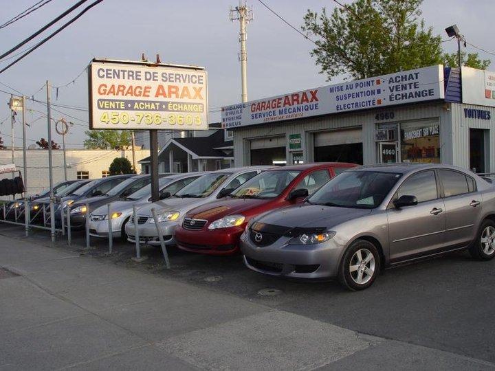 Auto arax laval qc ourbis for Garage bourny automobiles laval