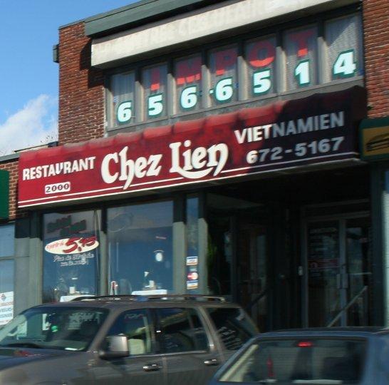Restaurant Vietnamien  Ef Bf Bd Chez